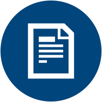 Icon of paper document